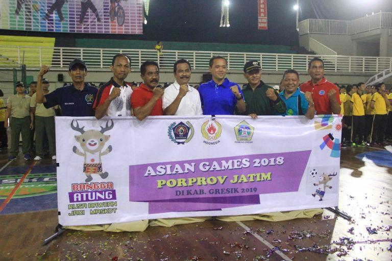 HPN , SIWO PWI Jatim Dan Pemkab Gresik Bangga 'Atung' Asian Games 2018