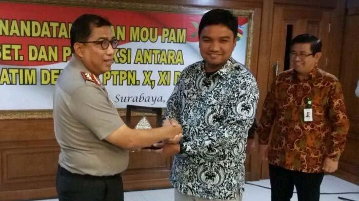 Amankan Aset dan Proses Giling, PTPN XI Gandeng Polda Jawa Timur