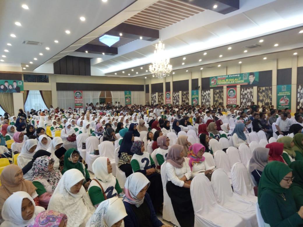 Amankan Suara Gus Ipul-Puti, PKB Surabaya Kerahkan 2 Ribu Kadernya