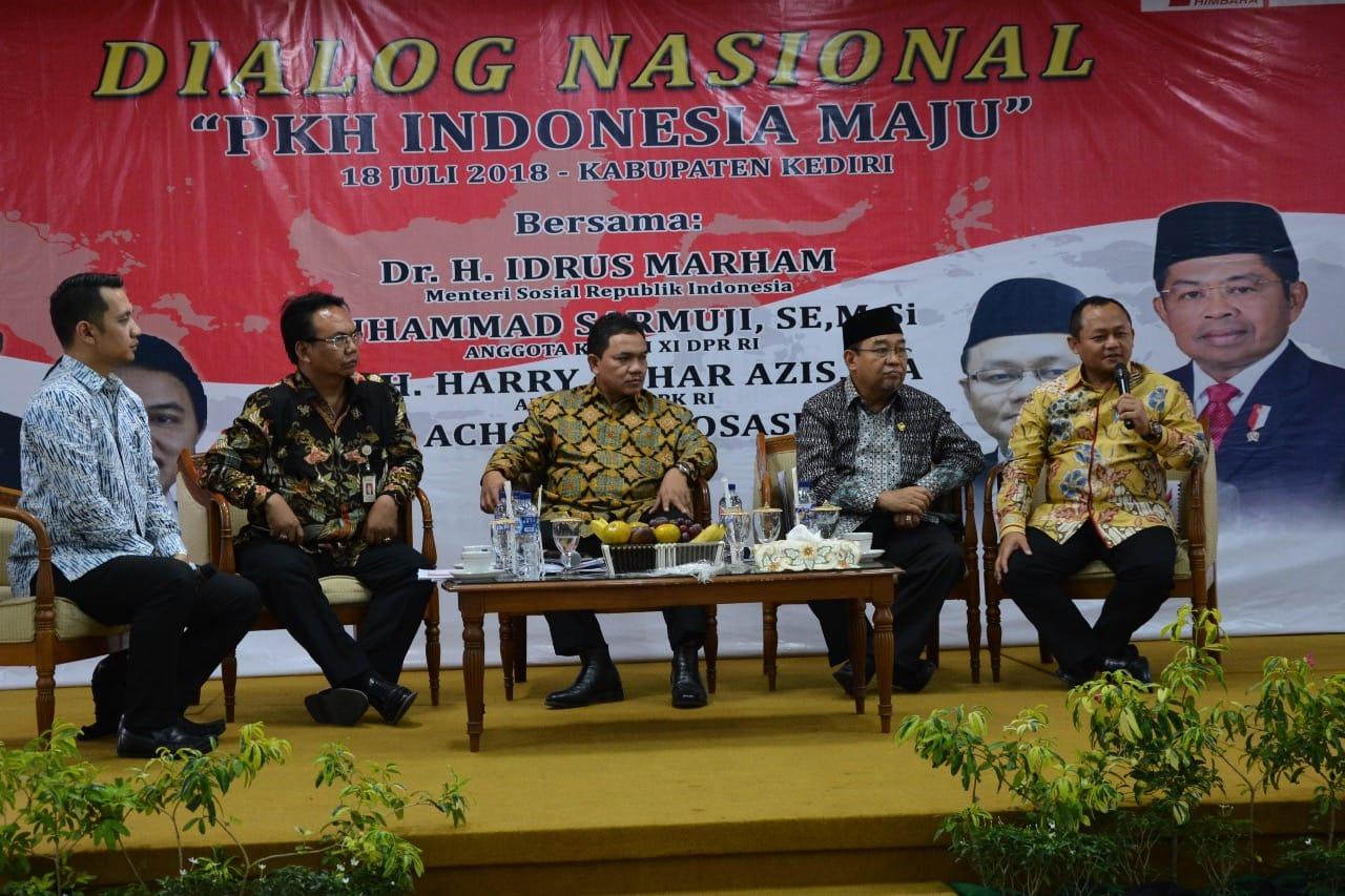 Dialog Nasional PKH Indonesia Maju: Jumlah Penduduk Miskin Turun 1,8 juta Jiwa
