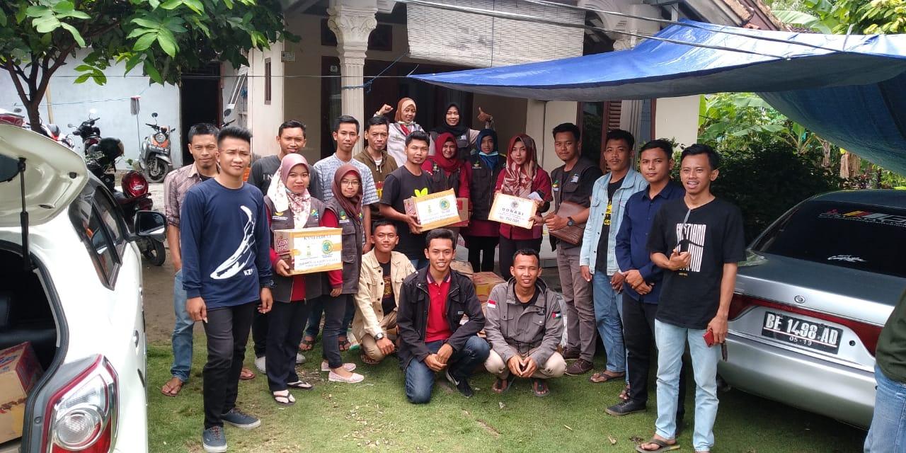 SDM PKH Bantu Korban Tsunami Lampung