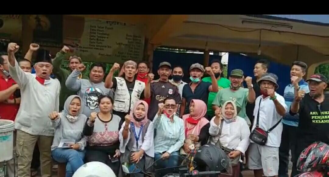Elemen Warga Deklarasi Jogoboyo Amankan dan Jaga Surabaya Tetap Kondusif