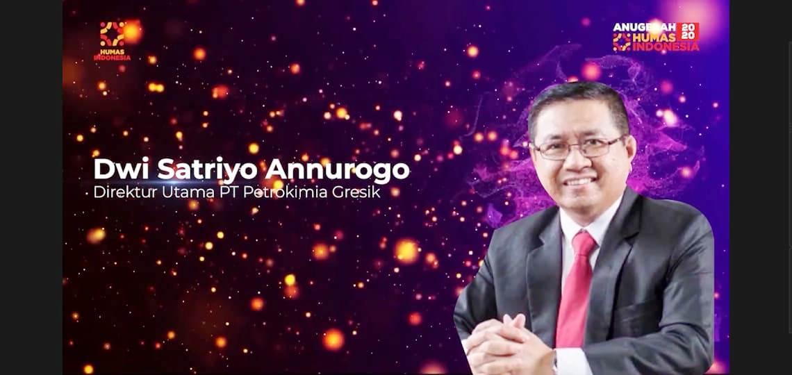 Dwi Satriyo Raih Pemimpin Anak BUMN Terpopuler Di Media Digital 2020