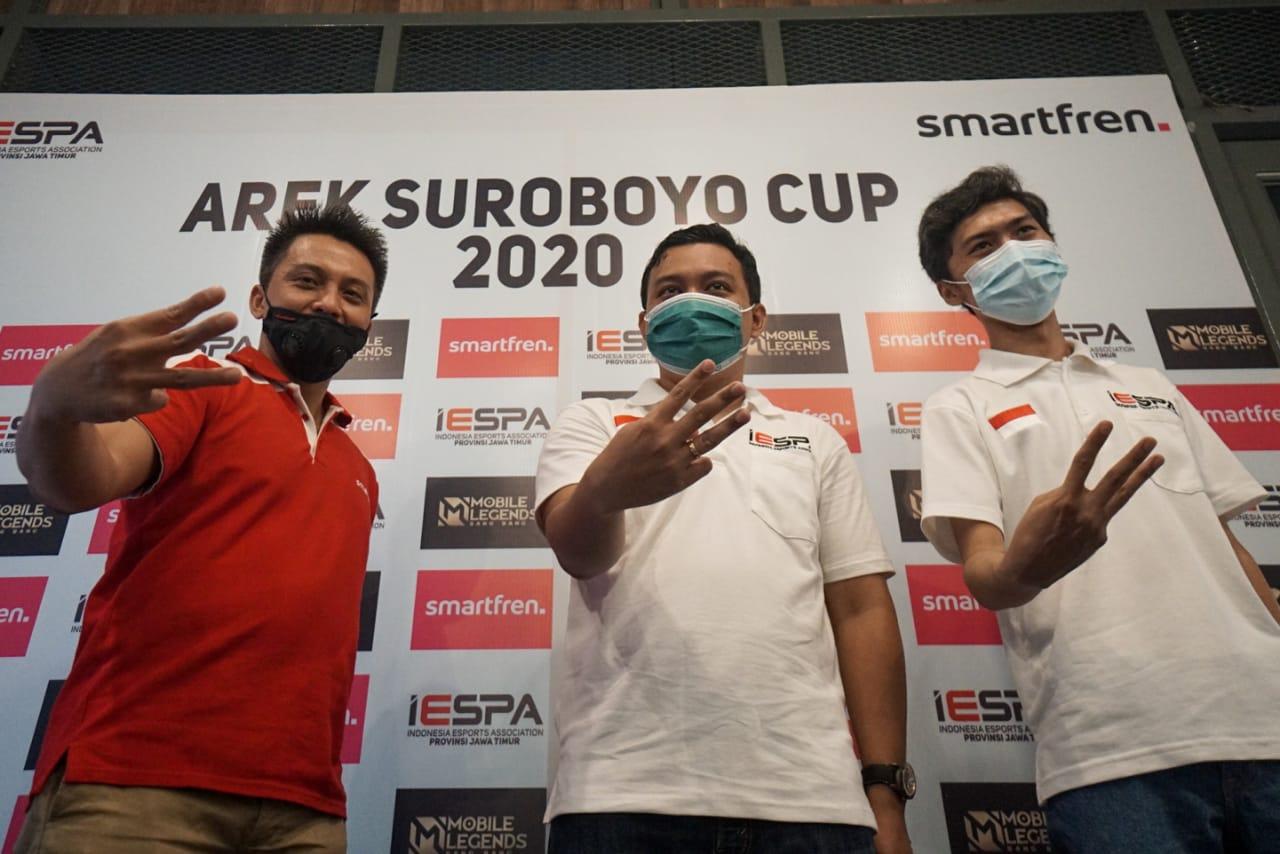 Smartfren dan IESPA Jatim Kembangkan Talenta Esport Lewat Arek Suroboyo Cup