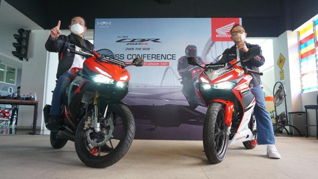 All New CBR150R Makin Berkarakter dan Lincah Meluncur Di Jatim.
