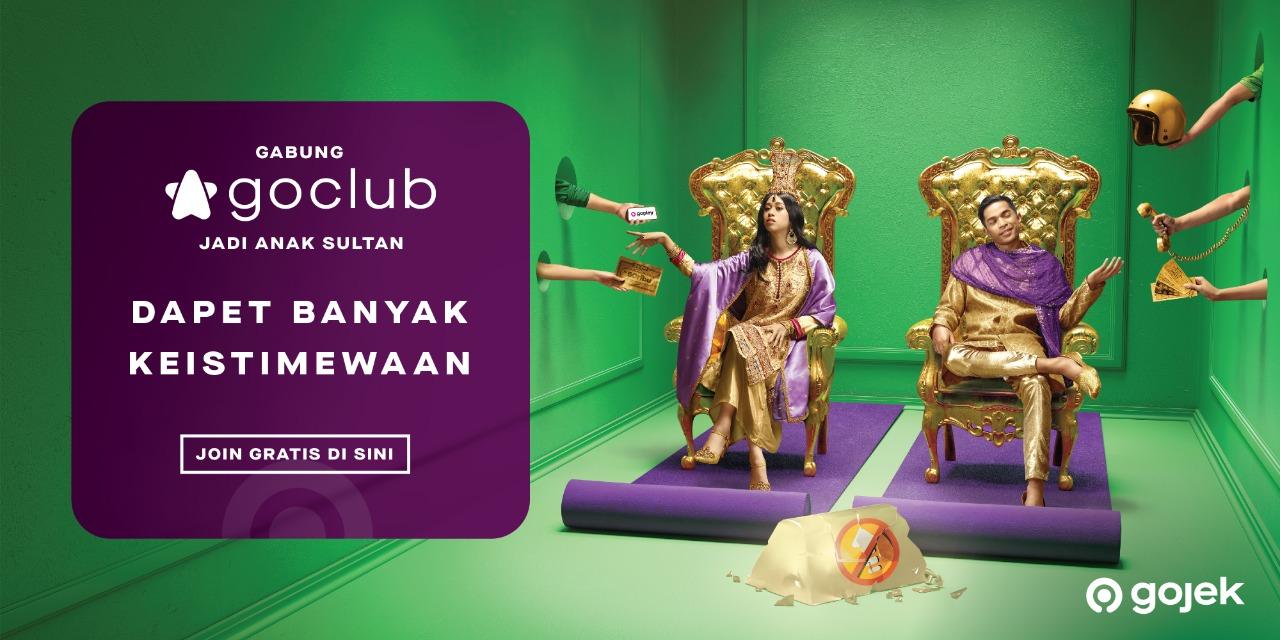 GoClub, Program GoJek Loyalitas Pelanggan Jadikan Hidup Bagai 'Anak Sultan'