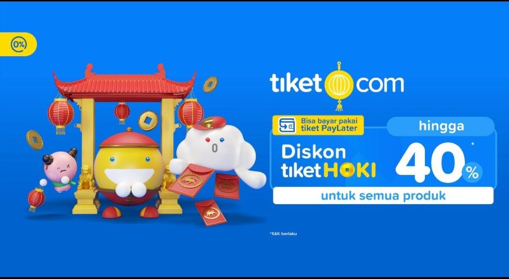 Jelajah Imlek Hoki di berbagai kota di Indonesia versi tiket.com