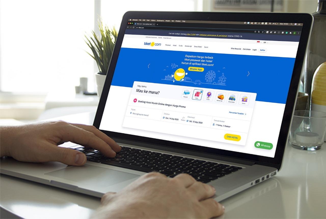 tiket.com Gandeng ShopeePay Mudahkan Masyarakat Rencanakan Staycation Aman dan Nyaman