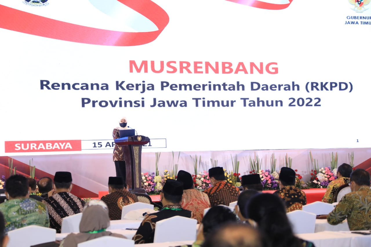 Ini Fokus Pembangunan Pemprov Jatim pada Musrenbang RKPD 2022