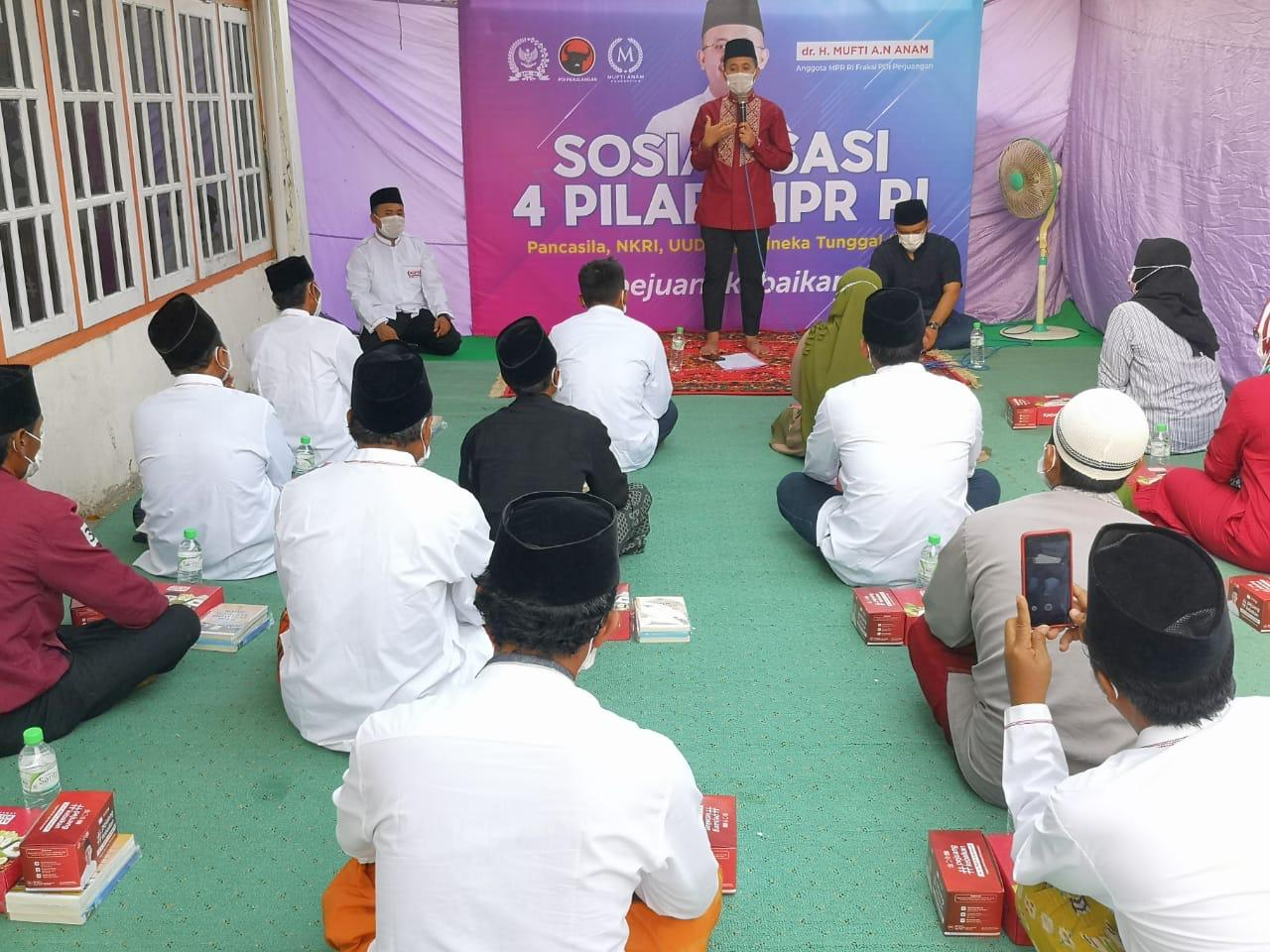 Setahun Lebih Pandemi, Mufti Anam: 4 Pilar Kebangsaan Jadi Modal Lewati Masa Sulit