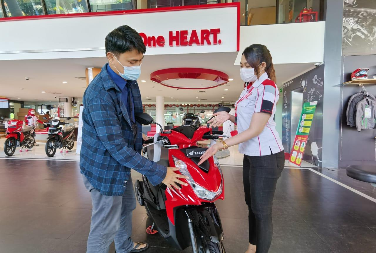 Surprise Berlipat, Beli Honda BeAT Series Raih Mobil Honda Brio.