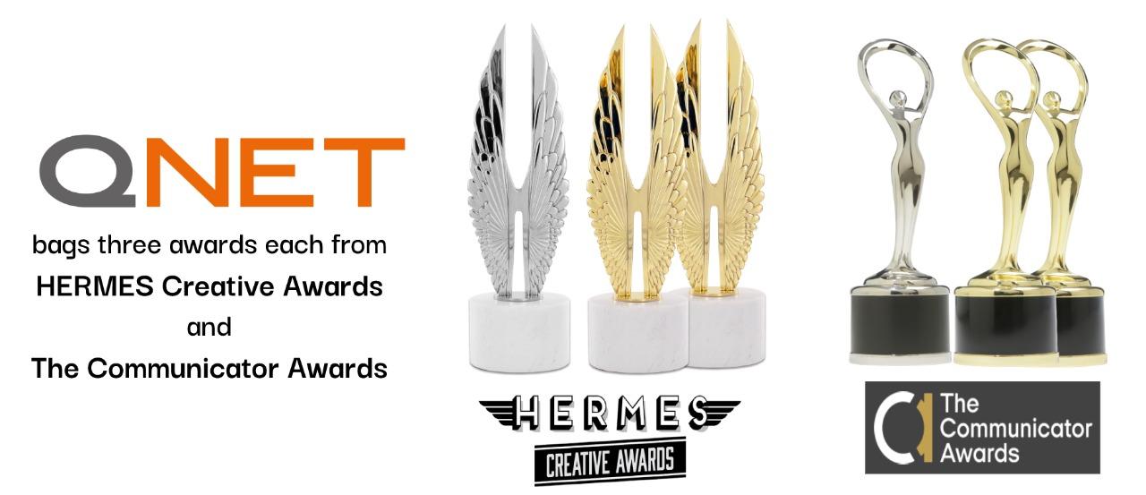 QNET Kantongi Sejumlah Penghargaan di Ajang Communicator Awards Dan HERMES Creative Awards