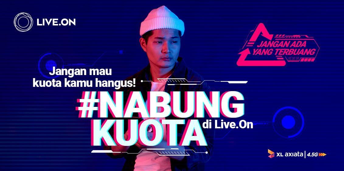 Layanan Telekomunikasi Digital Live.On, XL Axiata Kenalkan Fitur #NabungKuota